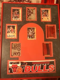 Chicago Bulls card frame La Habra, 90631