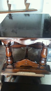 brown wooden table with two chairs Tulsa, 74128