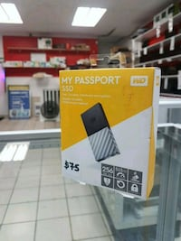 WD My Passport 256GB SSD,Fast,Durable,@298
