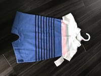 New 9 month old white and blue onesie Torbay, A1K