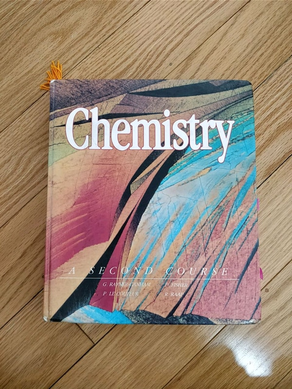 Chemistry - A second course