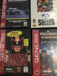 Sega genesis games from $20 and up Vaughan, L4J 6S1