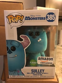 Funko POP! Monsters Inc. Flocked Sully AMZN Excl Evanston, 60208