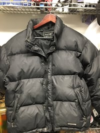 Versace V2 men's black down jacket