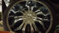 26 INCH RIMS END TIRE SYR. NY Bridgeport