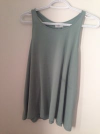Grey scoop-neck tank top Grande Prairie