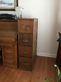 Oak file cabinet vintage! Mechanicsville