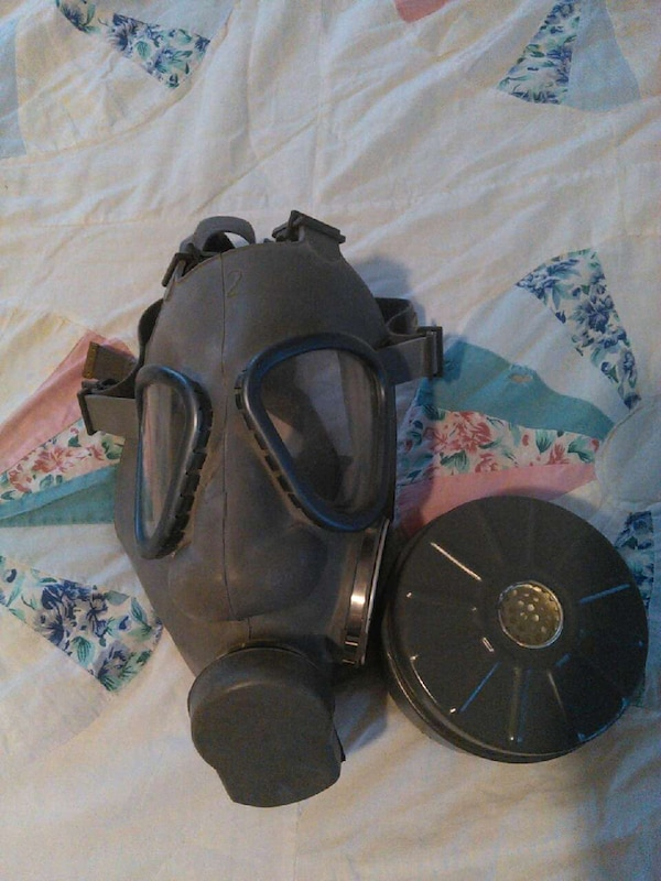 Finnish gasmask with filter