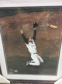 Mariano Rivera signed 16x20 framed and multi inscribed /42 Garwood, 07027