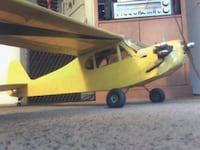 Piper cub Saito FA-65 RC plane DISTRICTHEIGHTS