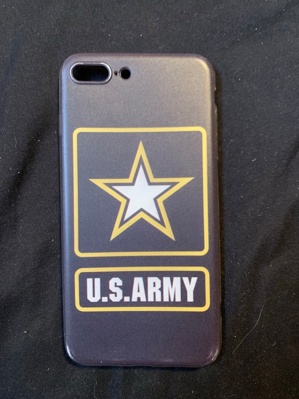 uk availability 60721 a5f05 iPhone 8+ US Army case