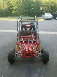 red and black dune buggy Herndon, 20170