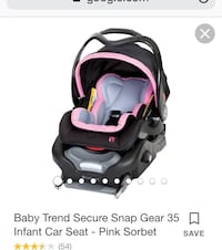 baby's black and pink car seat carrier screenshot Tolleson, 85353