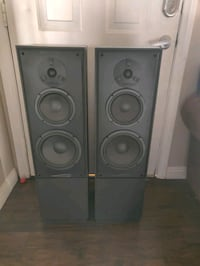 Phase technology 3 way speakers
