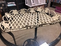 SHABBY CHIC LARGE WROUGHT IRON TRAY North Dumfries, N0B