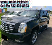 Cadillac - Escalade - 2012 $2700 Down Payment Houston