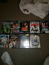 assorted PS2 game lot  Allentown, 18103