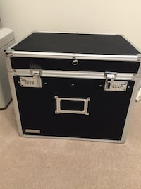 Locking File Chest / Security Box - excellent condition