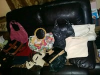Variety of Purses, Some Name Brands 734 mi