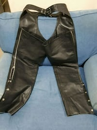 size small FMC motorcycle leather chaps Oxnard, 93036