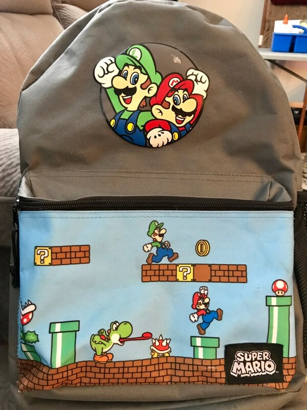 Super Mario Backpack  318f3f75-42ce-464f-b83e-5bce2183a259