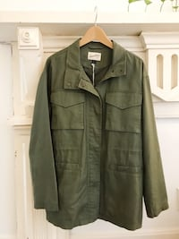 Universal Thread (Target) Army Green Jacket Franklin, 37064