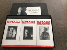 Die Hard Trilogy VHS Boxset Collectable - Letterbox Edition