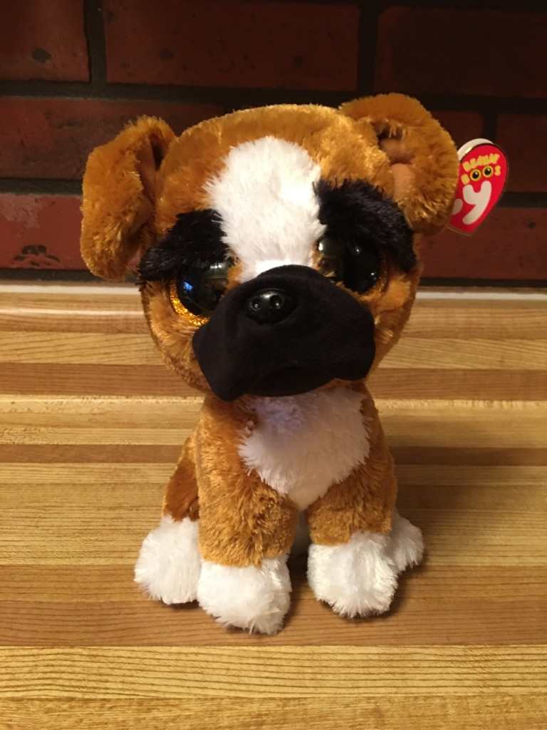 NEW w// tags !! TY Classic Frank the Dog plush