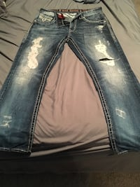 34x32 Rock Revival Jeans. No holes or stains, excellent condition Muskegon, 49444