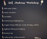 Self make up course. Mississauga, L4Z 0A9