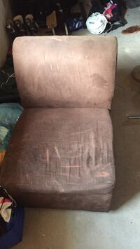 Brown suede sofa Riverview, E1B 0L6