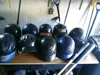 black and blue baseball helmet lot Hackensack, 07601