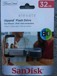 SanDisk Flash Drive 32GB Connect direct to iphone! Fairfield, 94533