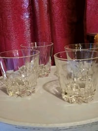 4 Vintage Solid Crystal Tumbler G LLP asses Claymont, 19703