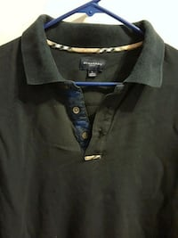 Mens Burberry long sleeve polo Vienna, 22180