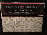 Tommy Hilfiger Full Size Sheet Set and Shams Gaithersburg, 20878