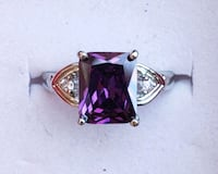 Sterling silver amethyst ring Baltimore, 21224