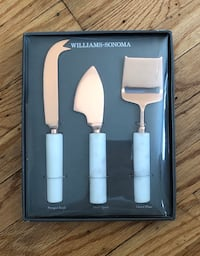 Marble and Copper Cheese Knives Set Glenolden, 19036