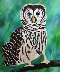 Owl painting VANCOUVER