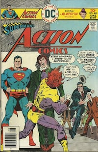 Comic - ACTION # 460  In good condition Pick-up in Newmarket Newmarket