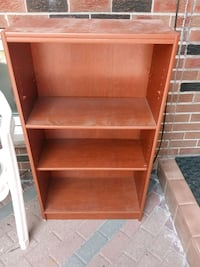 brown wooden 3-layer shelf Toronto, M1B 2H1