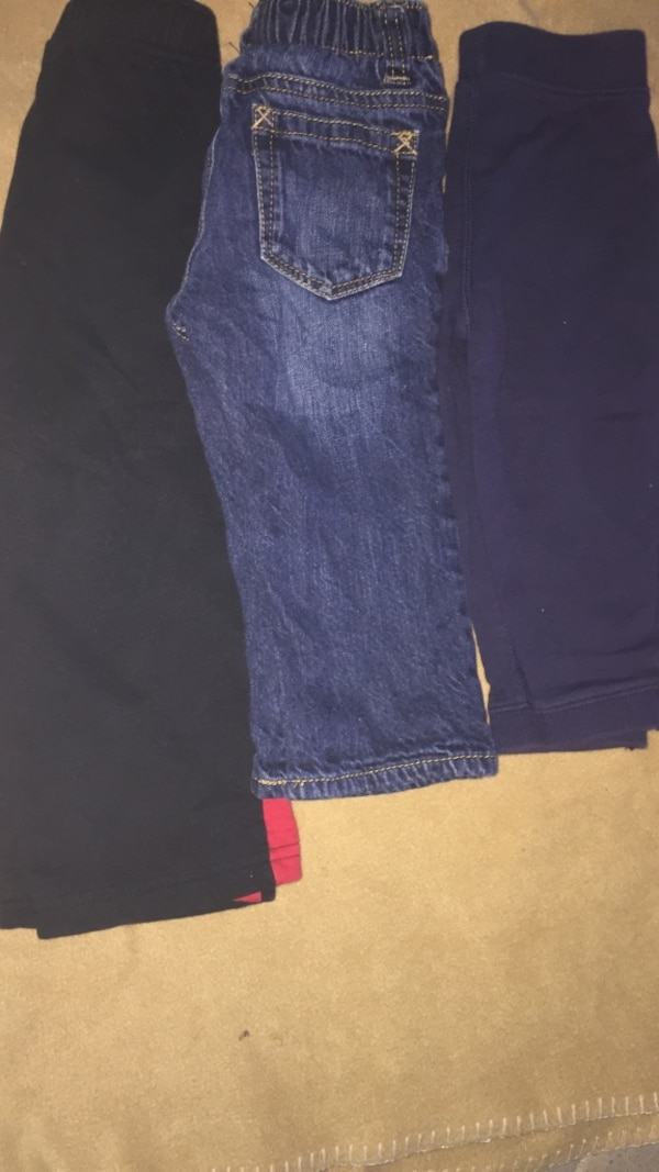 Five Pairs of Assorted Pants 18-24 Months