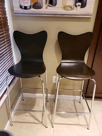 Two nice bar stools.  $50 for the pair. Alexandria, 22312