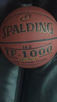red and black Spalding basketball Toronto, M5E 1Z9