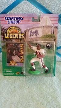 20yr old gale sayers action figure