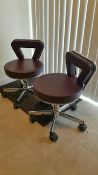 Year end .must go .Salon pedicure stool chair