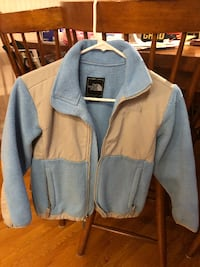 gray and blue zip-up jacket ARLINGTON