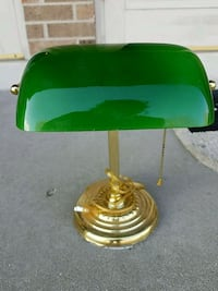Bankers Lamp, bulb not included.
