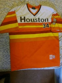 Houston Astros Throwback #34 Jersey Denver, 80230