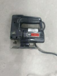 black and gray corded power tool Barrie, L4M 6C4